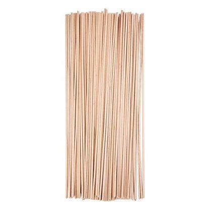 Палочки для шариков, бамбуковые, 100шт.