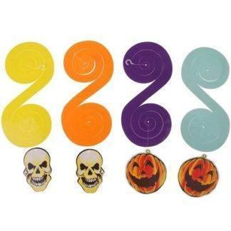 Спираль Хэллоуин 4 шт