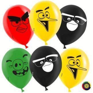 Набор шаров Angry Birds, 10 шт, 30 см