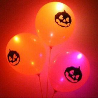 Шары с подсветкой Halloween, 3 штуки