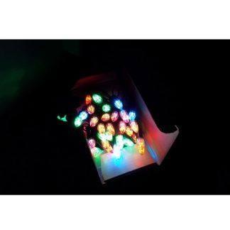 """Гирлянда """"Шишечки"""" фигурная 100 LED 10м, цветная"""