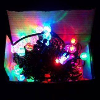 """Гирлянда """"Пузырики"""" фигурная 100 LED 10м, цветная"""