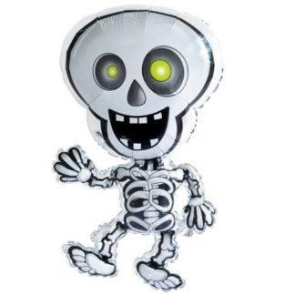 Шар фигурный, Танцующий скелет, 71см