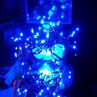 Светодиодная гирлянда Синяя, 5м, Д320