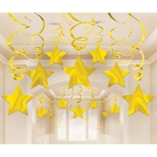 Спираль Звезда Gold 46-60см 30шт