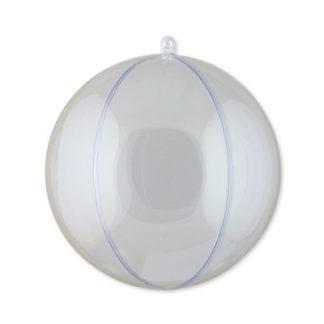 Шар на ёлочку  пластик 12см (для декорирования)
