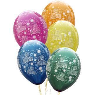 Набор шаров кристалл С Днем рождения