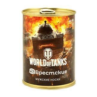 Сувенир Носки в банке World of Tanks